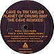 CAVE VS TIM TAYLOR - PLANET OF DRUMS 2007 - MISSILE - VINYL RECORD - MR347187