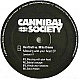 HARDTRAX VS MIKE DRAMA - MESSING WITH YOUR HEAD EP - CANNIBAL SOCIETY - VINYL RECORD - MR347383