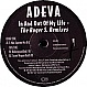 ADEVA - IN AND OUT OF MY LIFE REMIXES - CLUB TOOLS - VINYL RECORD - MR38152