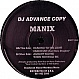MANIX - HEADING TO THE LIGHT - REINFORCED - VINYL RECORD - MR40305