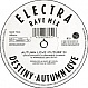 ELECTRA - AUTUMN LOVE / DESTINY (RAVE MIX) - FFRR - VINYL RECORD - MR40354