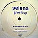 SELENA VS X-MEN - GIVE IT UP - COLUMBIA - VINYL RECORD - MR420503