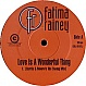 FATIMA RAINEY - LOVE IS A WONDERFUL THING - COALITION - VINYL RECORD - MR43378