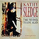 KATHY SLEDGE - TAKE ME BACK TO LOVE AGAIN - EPIC - VINYL RECORD - MR4362