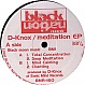 D-KNOX - MEDITATION EP - BLACK NATION - VINYL RECORD - MR51668
