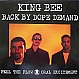 KING BEE - BACK BY DOPE DEMAND - 1ST BASS - VINYL RECORD - MR5673