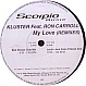 KLUSTER FEAT.RON CAROLL - MY LOVE (REMIXES) - SCORPIO - VINYL RECORD - MR57852