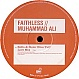FAITHLESS - MUHAMMED ALI (REMIXES PT 1) - CHEEKY - VINYL RECORD - MR65266