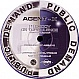 AGENT X - DECOY / TURBULENCE - PUBLIC DEMAND - VINYL RECORD - MR65303