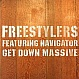 FREESTYLERS - GET DOWN MASSIVE - FRESKANOVA - VINYL RECORD - MR65438