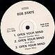 808 STATE - LIFT / OPEN YOUR MIND - ZTT - VINYL RECORD - MR669456