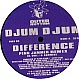 DJUM DJUM AKA LEFTFIELD - DIFFERENCE (REMIX) - OUTER RHTYHM - VINYL RECORD - MR671