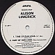 ALISON LIMERICK - TIME OF OUR LIVES - ARISTA - VINYL RECORD - MR67486
