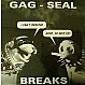 QBERT - GAG SEAL BREAKS - DIRT STYLE  - VINYL RECORD - MR68579