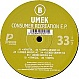 UMEK - CONSUMER RECREATION EP - PRIMATE - VINYL RECORD - MR69110