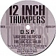 DSP - THE TIPSTER - 12 INCH THUMPERS - VINYL RECORD - MR70790