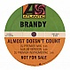 BRANDY - ALMOST DOESN'T COUNT - ATLANTIC - VINYL RECORD - MR71811
