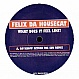 FELIX DA HOUSECAT - WHAT DOES IT FEEL LIKE? - CITY ROCKERS - VINYL RECORD - MR74359