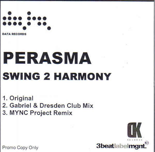 PERASMA - SWING 2 HARMONY - DATA RECORDS - CD - MR752943