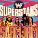 THE WWF SUPERSTARS - SLAM JAM - ARISTA - VINYL RECORD - MR760029