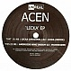 ACEN - LICKA EP - UNREAL - VINYL RECORD - MR86979