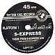 S EXPRESS - THEME FROM S EXPRESS - RHYTHM KING - VINYL RECORD - MR89094