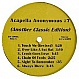 ACAPPELLA ANONYMOUS - VOLUME 7 - DJ ESSENTIALS - VINYL RECORD - MR9721